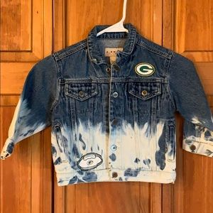 Other - Kids Packers Bleached Denim Jacket
